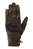 20/21 686 Men's Fleece Glove Liner Dark Camo