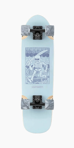 Landyachtz- ADVENTURE SKELETON COMPLETE
