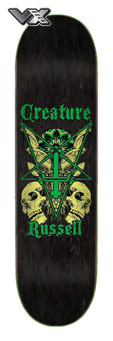 Russell Coat of Arms VX Deck 8.6in x 32.11in Creature