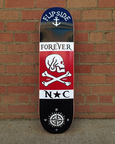 Flipside Deck Made in the USA!! The Pirate Graphic