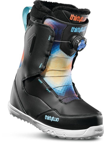 19/20 Thirty Two Women's Zephyr Boa Black/ Blue/ White