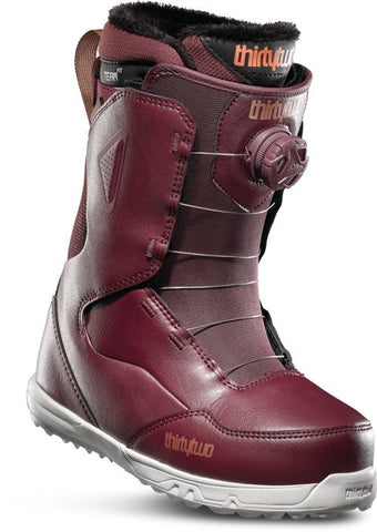 19/20 Thirty Two Women's Zephyr Boa Maroon