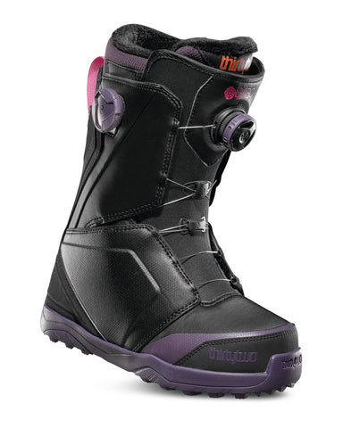 18/19 Thirty Two Women's Lashed B4BC Double Boa Black/ Purple