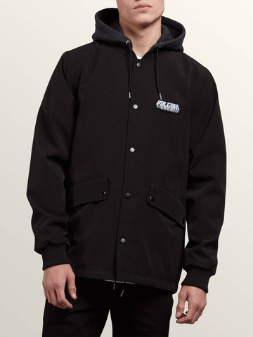 18/19 Volcom Mens Highstone Jacket Black