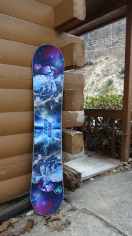 Demo a Women's Never Summer Proto Type 2 142 with Union Rosa bindings
