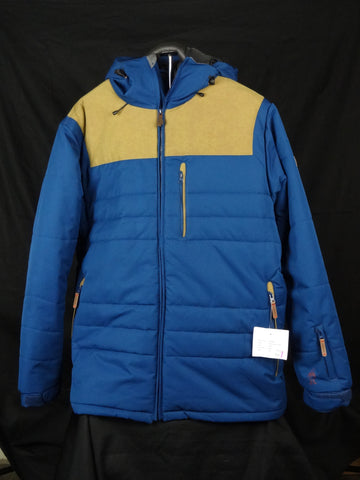 16 Mens Lib Tech Puffin Stuff Snowboard Jacket Blue