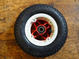 200 x 50 Crossair Vegas Hubs with tires, tubes, and bearing (28 x 12) Red/ W