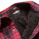 18/19 Volcom Mens Sherpa Flannel Jacket Black