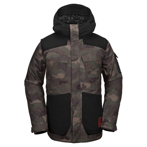 18/19 Volcom Mens VCO Inferno Insulated Jacket Camo
