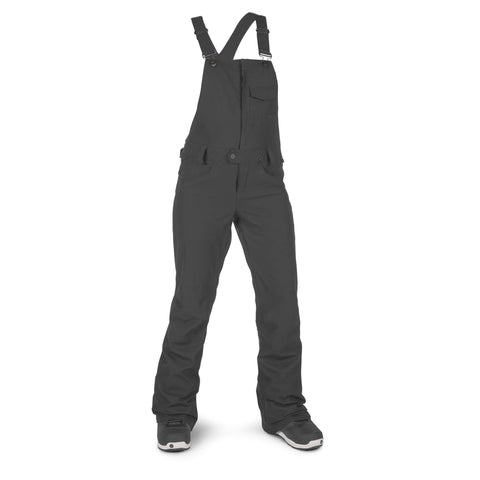 18/19 Volcom Womens Swift Bib Overall Black