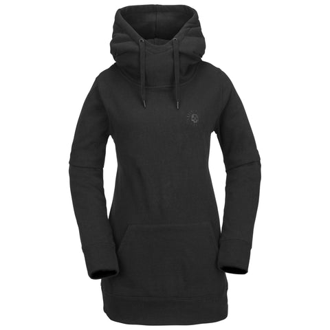 18/19 Volcom Womens Costus Pullover Fleece Black