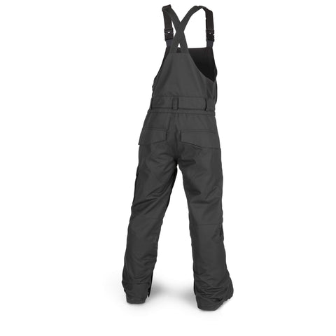 18/19 Volcom Youth Barkley Bib Overall Black
