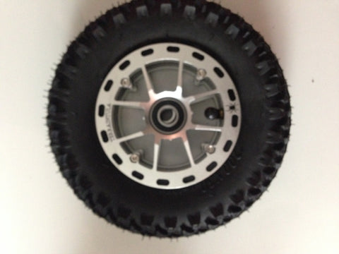 200 x 50 Mountainboard Kiteboard Tire, Tube, Terraintula hub, Bearing
