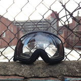 Flipside Goggle with Black outline NC Flag