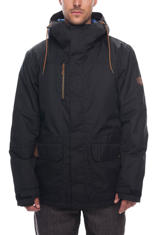 18/19 686 Mens S-86 Insulated Jacket Black