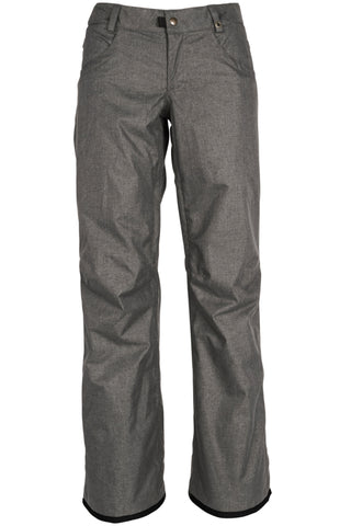 18/19 686 Womens Patron Insulated Pant Charcoal Melange