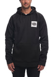 18/19 686 Mens Knockout Bonded Fleece Pullover Black Sublimation