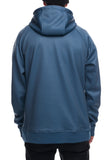 18/19 686 Mens Knockout Bonded Fleece Pullover Bluesteel