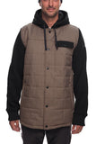 18/19 686 Mens Bedwin Insulated Jacket Khaki Melange