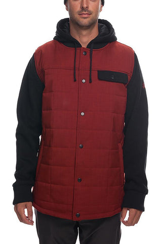 18/19 686 Mens Bedwin Insulated Jacket Rusty Red