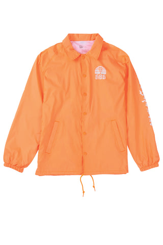 18/19 686 Mens Paradise Coaches Jacket Orange