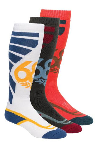20/21 686 MNS STRIKE SOCK 3-pack