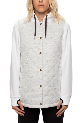 20/21 686 Womens Autumn Insulated Jacket White