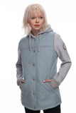 18/19 686 Womens Autumn Insulated Jacket Blue Melange