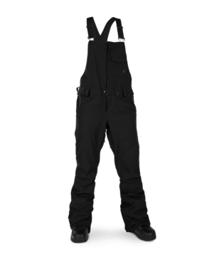 19/20 Volcom Womens Swift Bib Overall BLK