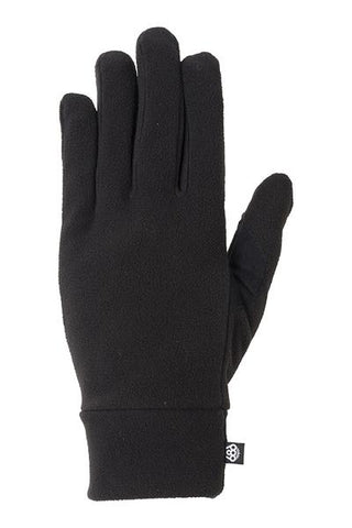 20/21 686 Men's Fleece Glove Liner Black