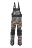 20/21 686 Mens Hot Lap Insulated Bib Dark Camo Colorblock