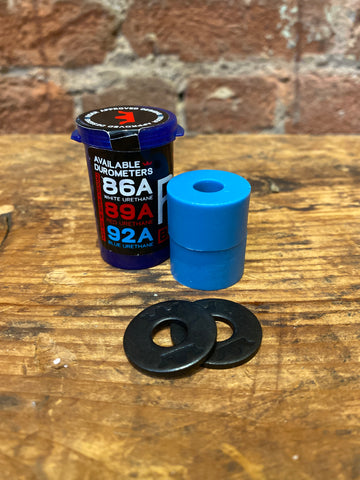 RAD double barrel longboard bushing 92a