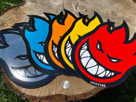 Spitfire Stickers Multi-color. XL You choose.