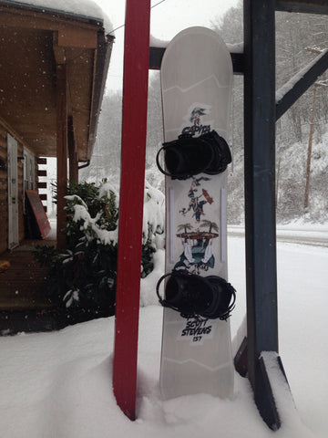 Demo Jason's Capita Scott Stevens 157 w/ Union Flite Pro bindings