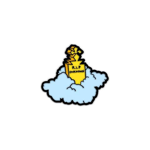 Krooked- RIP UNKNOWN LAPEL PIN