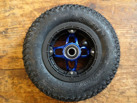 Crossair Vegas Black/Blue 200 x 50 Mountainboard Kiteboard wheel, hub, tube, bearing