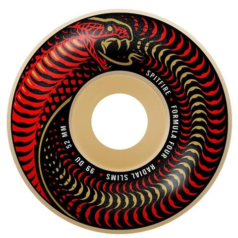 Spitfire F4 99 VENOMOUS RADIAL SLIMS NATURAL - 51mm