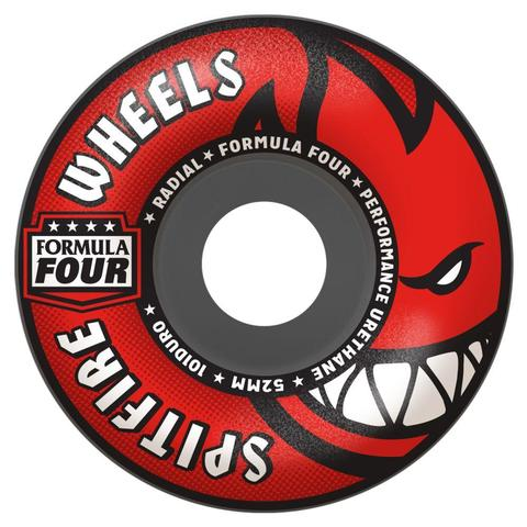 Spitfire F4 101 RADIALS GREY/RED - 52 mm, 54mm