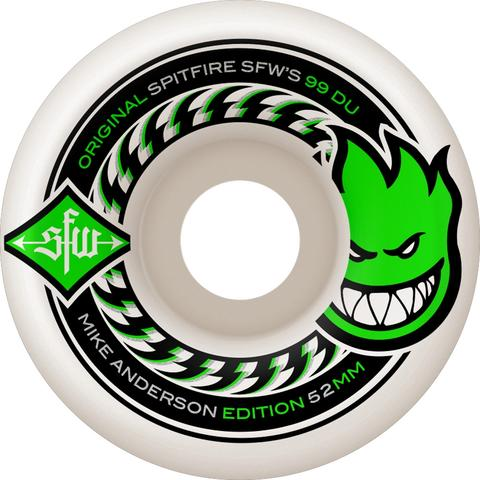 Spitfire Anderson SFW 2 52mm Wheels