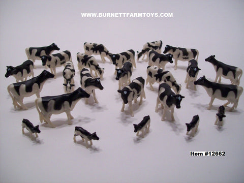 Item #12662 Holstein Cow Calf Pack - 1/64 Scale