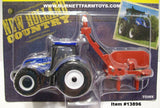 Item #13896 New Holland T6.175 Tractor with H7230 Disc Mower Conditioner