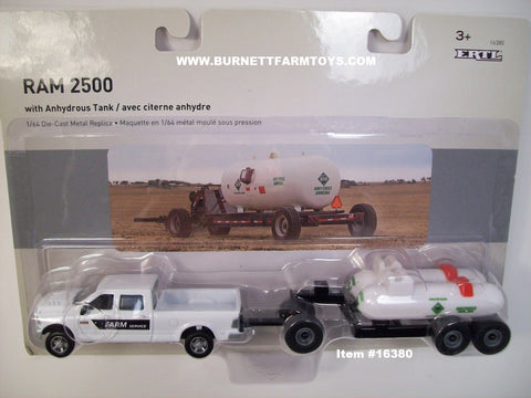 Item #16380 White RAM 2500 Pickup Truck with Anhydrous Tank Wagon