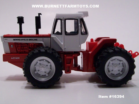 Item #16394 Minneapolis-Moline A4T-1600 National Farm Toys Show Tractor with Cab - 1/64 Scale