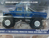 Item #29934 Blue Bigfoot #1 The Original Monster Truck 1974 Ford F-250 Pickup Truck