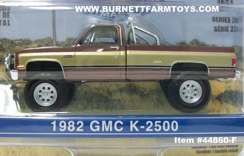 Item #44860-F Brown Gold 1982 GMC K-2500 Fall Guy Stuntman Association Pickup Truck