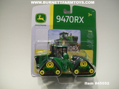 Item #45552 John Deere 9470RX Narrow Tracked Tractor - 1/64 Scale