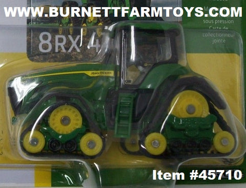 Item #45710 John Deere 8RX 410 Tractor with Tracks - 1/64 Scale