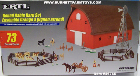 Item #46765 Round Gable Barn 73-piece Set