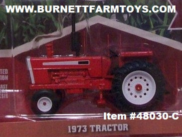Item #48030-C Red 1973 Open Station Tractor - 1/64 Scale