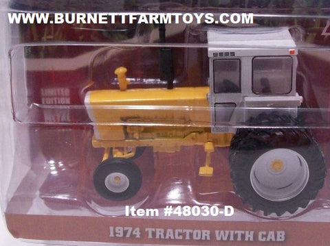 Item #48030-D Yellow 1974 Tractor with White Cab